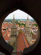cathedral tower window