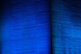 abstract architecture blue