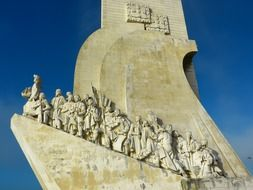 monument of the discoveries in Lisbon Portugal