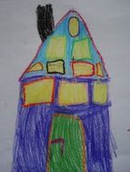 color home children drawing