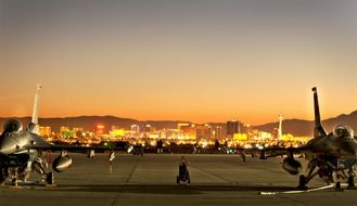 Nellis Air Force Base in Nevada