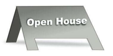 sign open house drawing