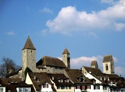 Castle in Rapperswil Jona in Switzerland