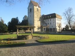 castle in Thurgau in Switzerland
