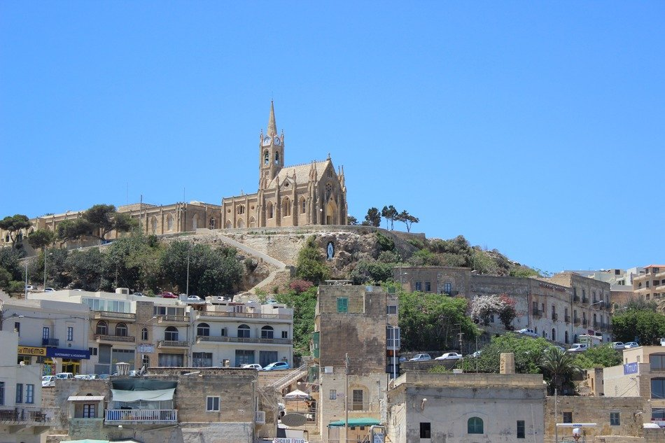 amazing gozo outside port city malta