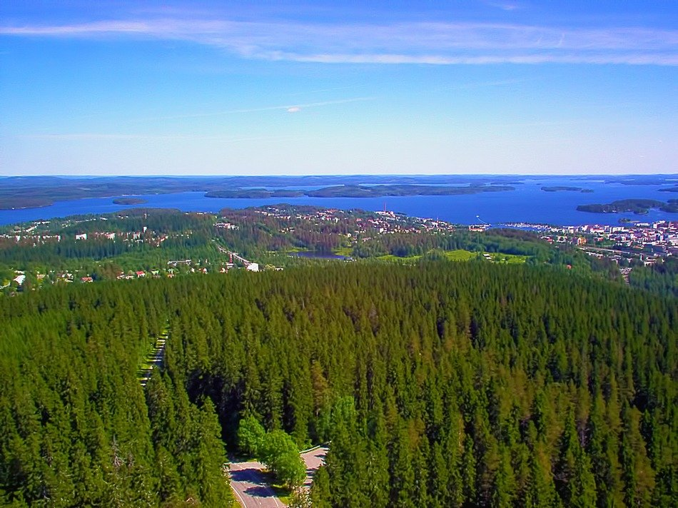 picturesque nature of finland