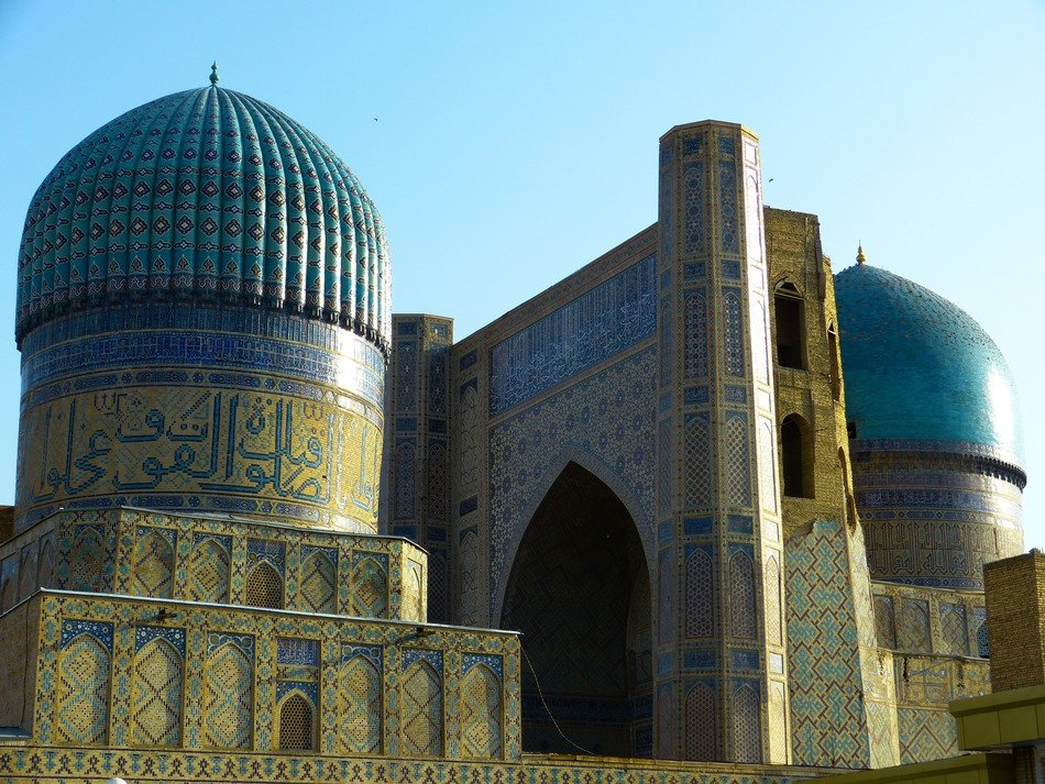 bibi xanom mosque samarkand uzbekistan -place for tourism