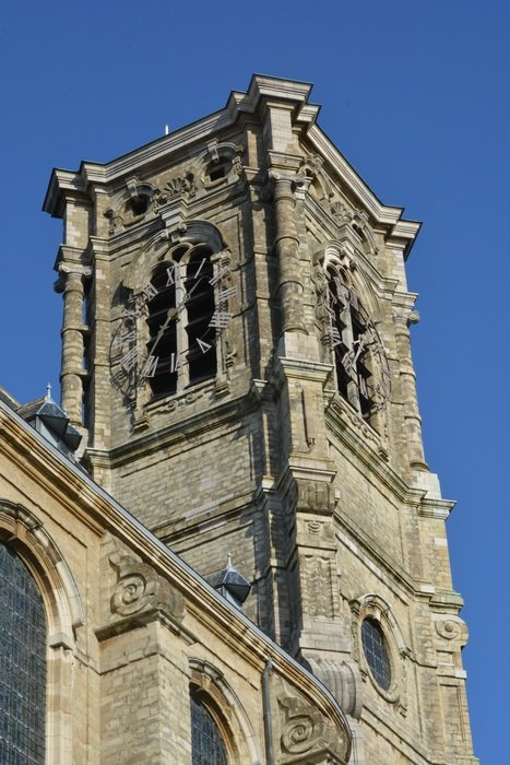 Medival church tower building architecture