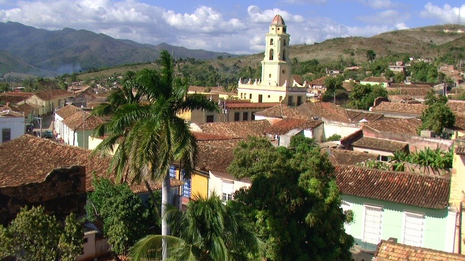 church of Saint Francis of Assini in old town, cuba, trinidad