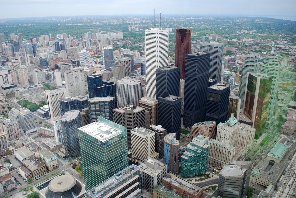 downtown of Toronto, Canada