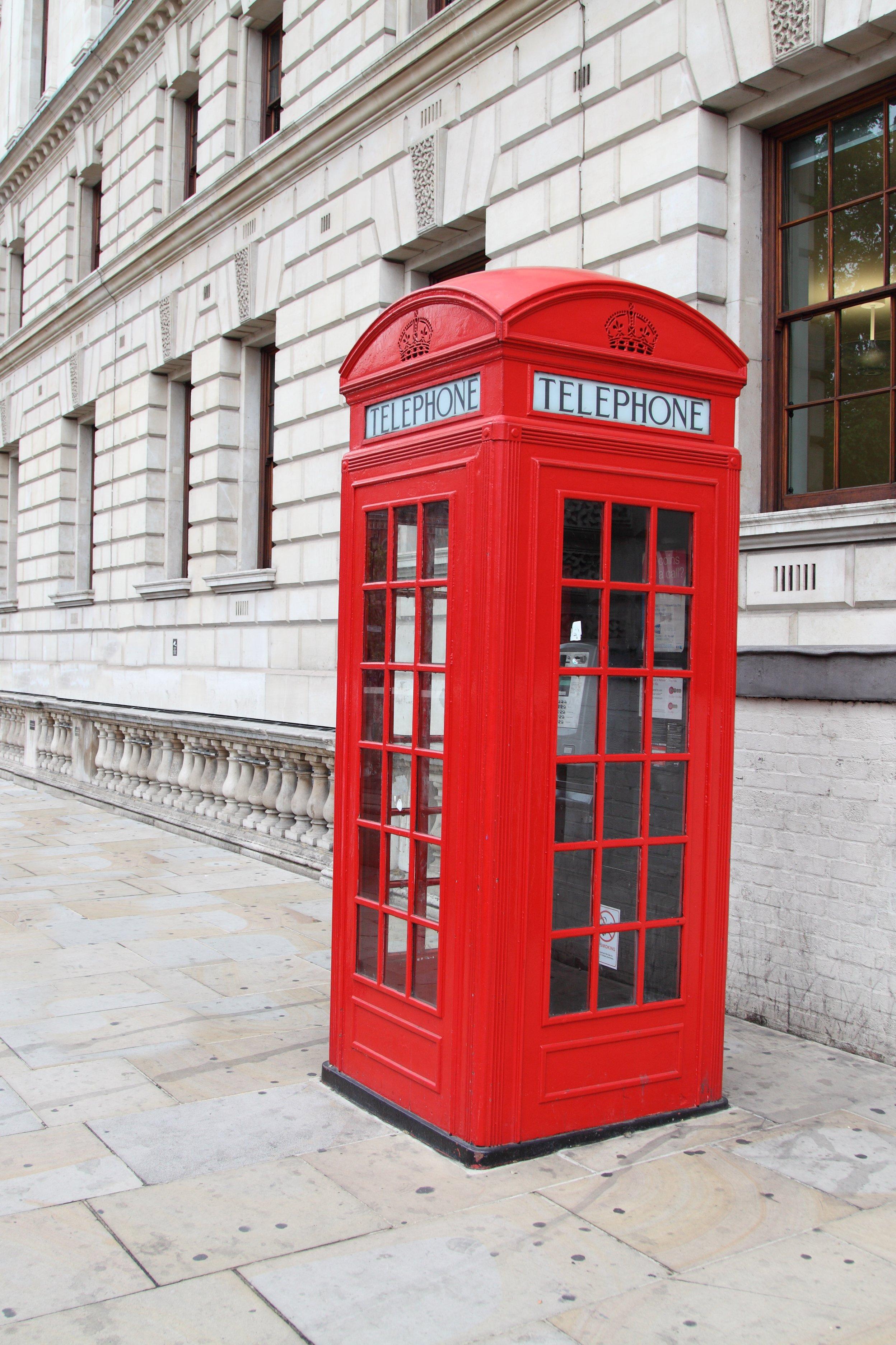 телефонные будки в америке фото