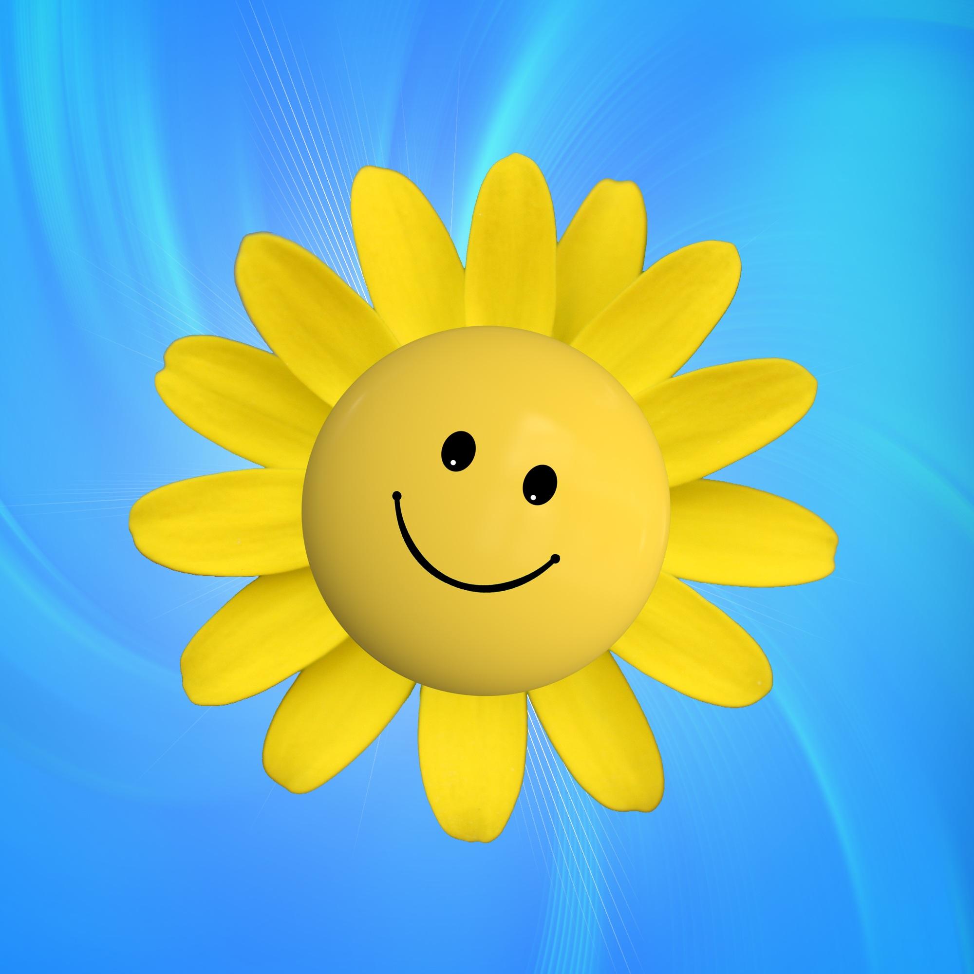 Открытка улыбнись солнце, днем рождения прикольные