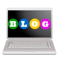 Clipart of blogging