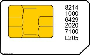 sim card mobile phone