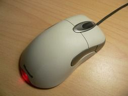 Connected computer mouse