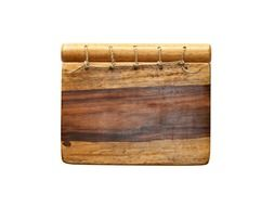 notebook wood paper note notepad