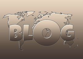 picture of blogging post