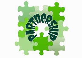 puzzle togetherness partnership