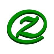the abc letter z in the green circle
