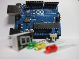 arduino single-board microcontroller and pins