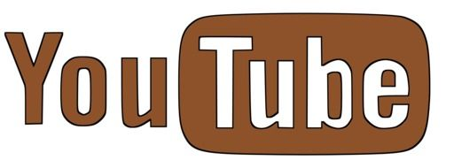 videohosting website logotype in the brown color