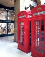 red london cabins phone