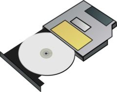 icon of a cd drive