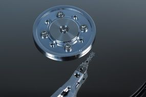 magnetic hard drive disk