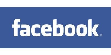 facebook logo social network blue white color