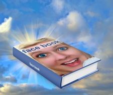 book with a woman\'s face