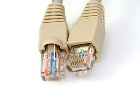 Photo of ethernet cable