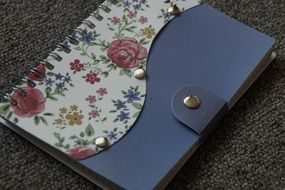 female notebook for diary
