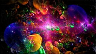 fractal colorful space