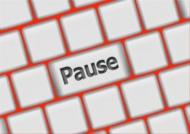 key of pause on keyboard