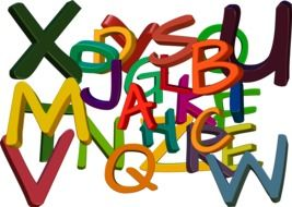 abc colorful alphabet letters