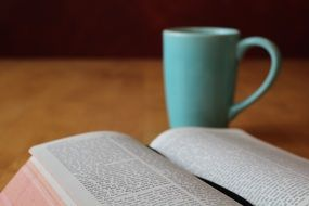 bible study coffee cup religion