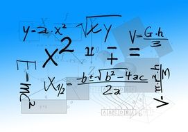 mathematics formula in physics school