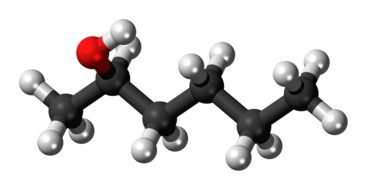 hexanol model molecule carbon 3d