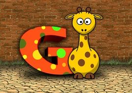 "letter ""G"" for children"