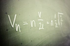 formula mathematics physics