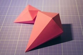 tinker diamond origami