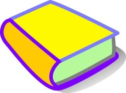 painted multi-colored book