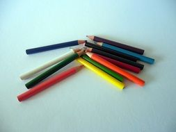 colored pencils is school supplies