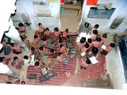 students school classroom India