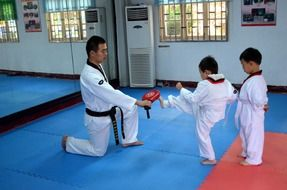 Taekwondo children's section