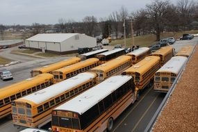 parking for school buses