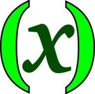 Green sign of the x symbol