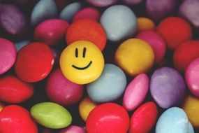 smarties smiley emoticon face
