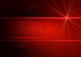 christmas motif background