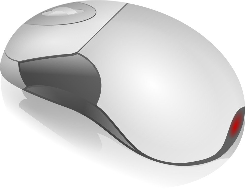 gray computer mouse as a graphic image